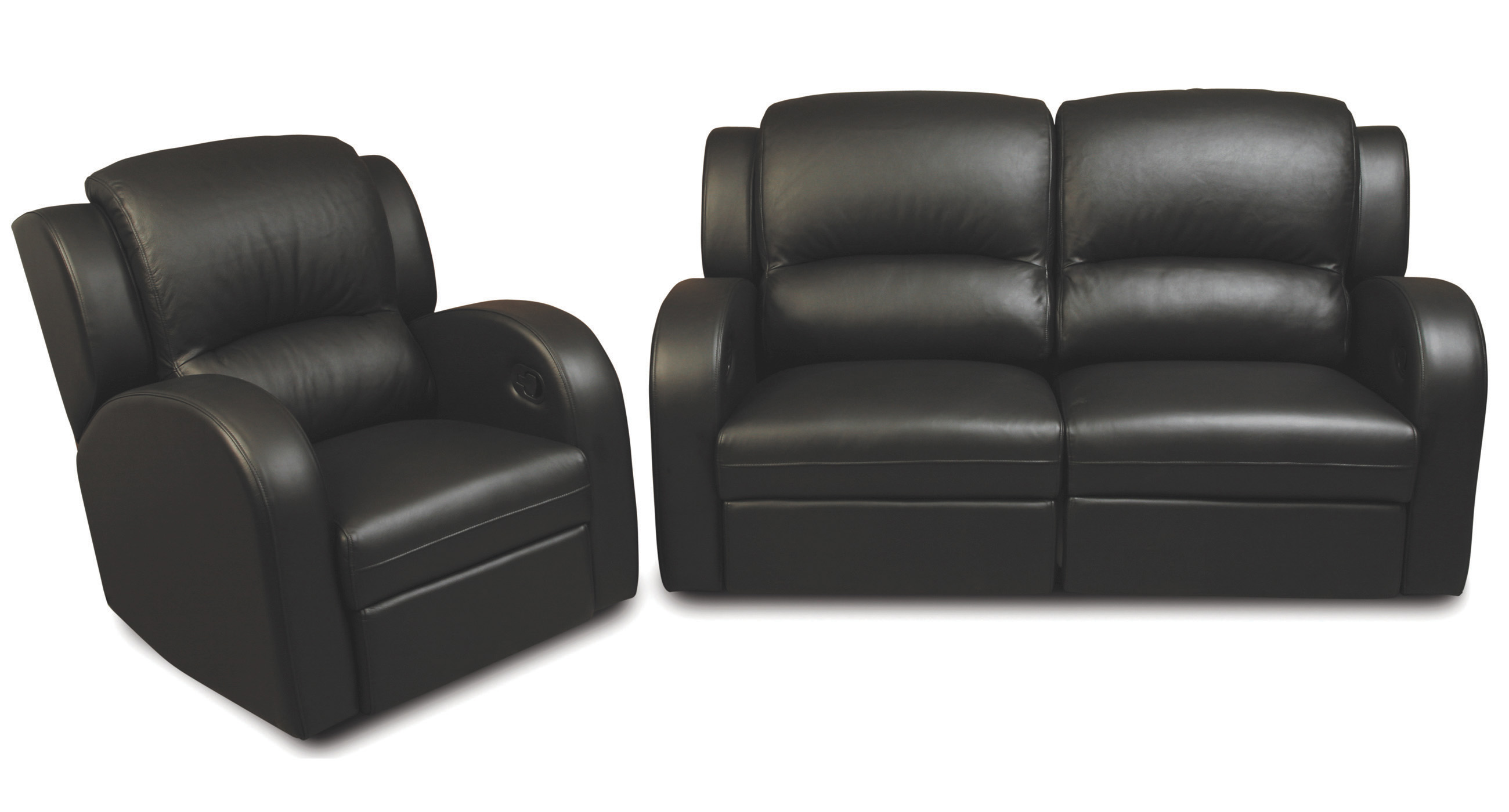 Deco Reclining Sofa and Chairs