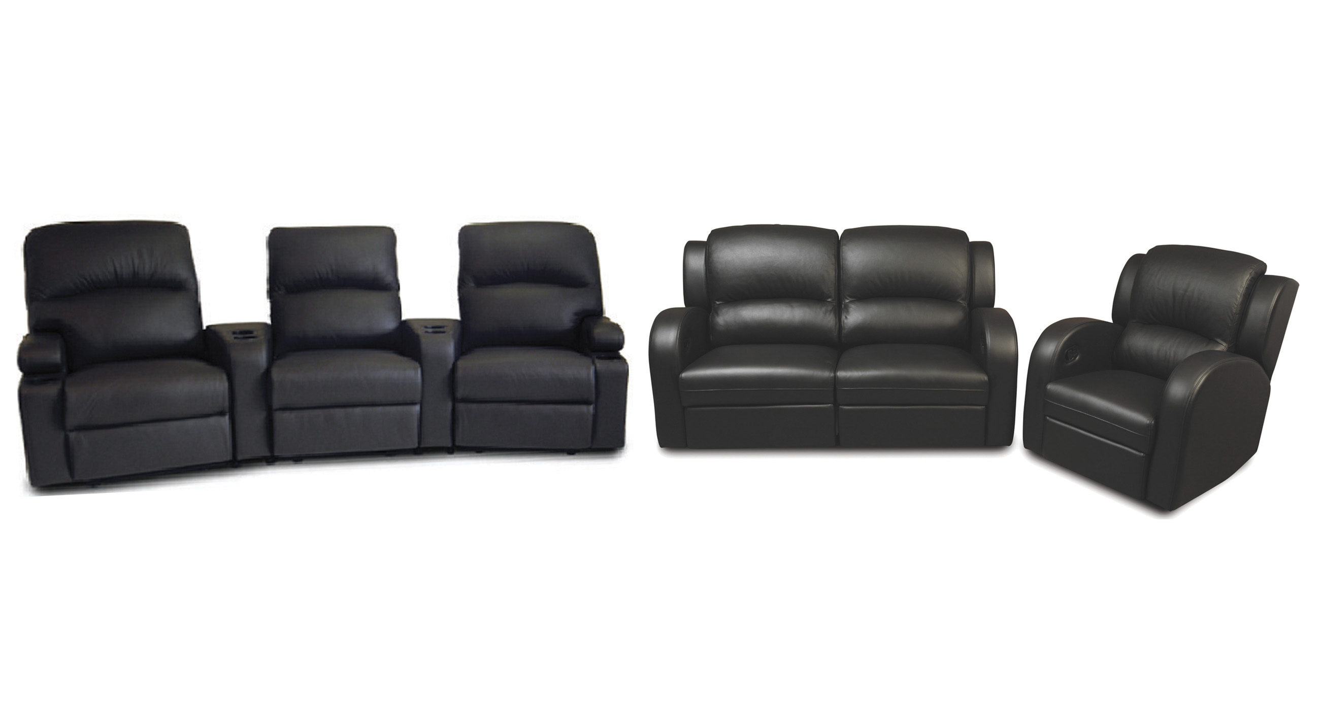 Deco, Retreat and Matrix Recliner Combinations