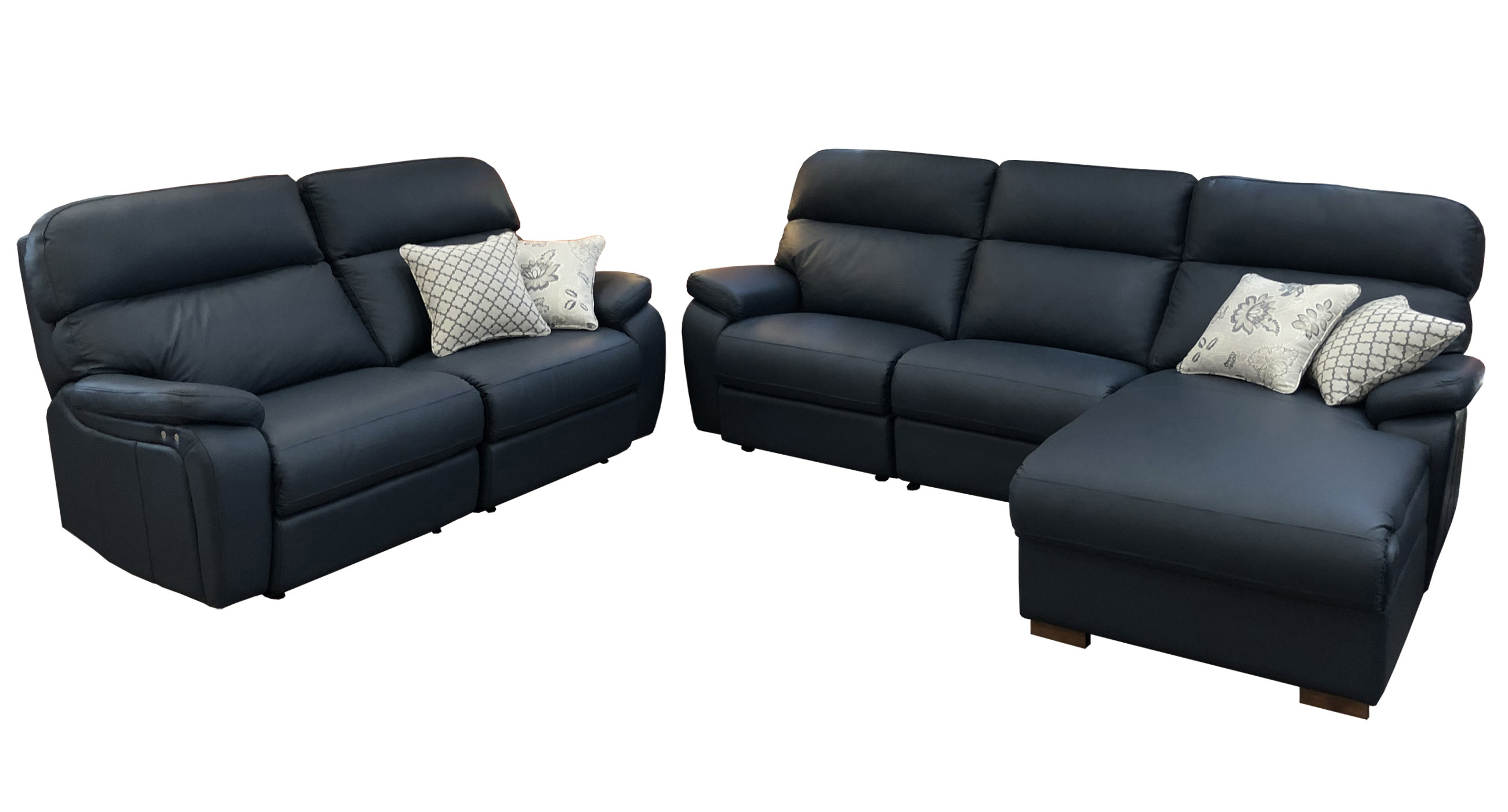 Sorrento Reclining Sofa and Chairs
